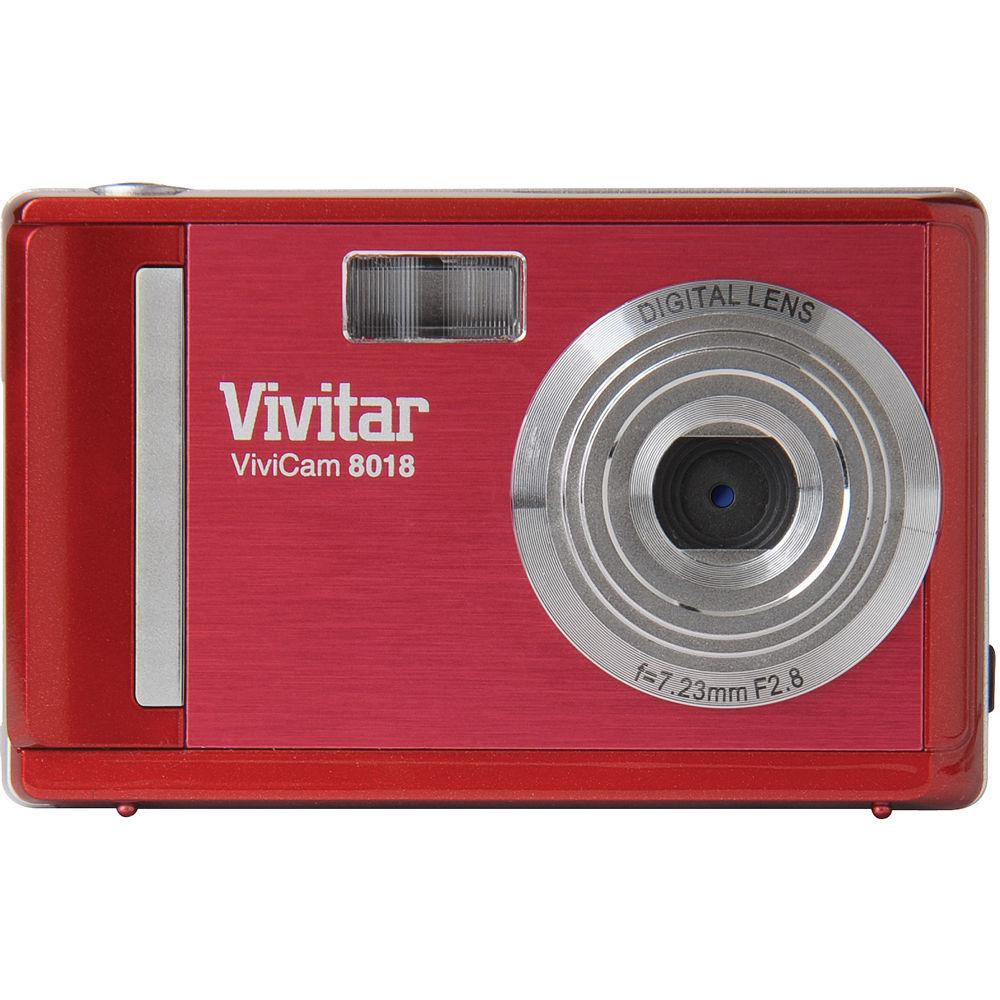 vivitar vivicam 8018 digital camera red 8018red b h photo rh bhphotovideo com Digital Camera User Guide PowerShot Camera Manual