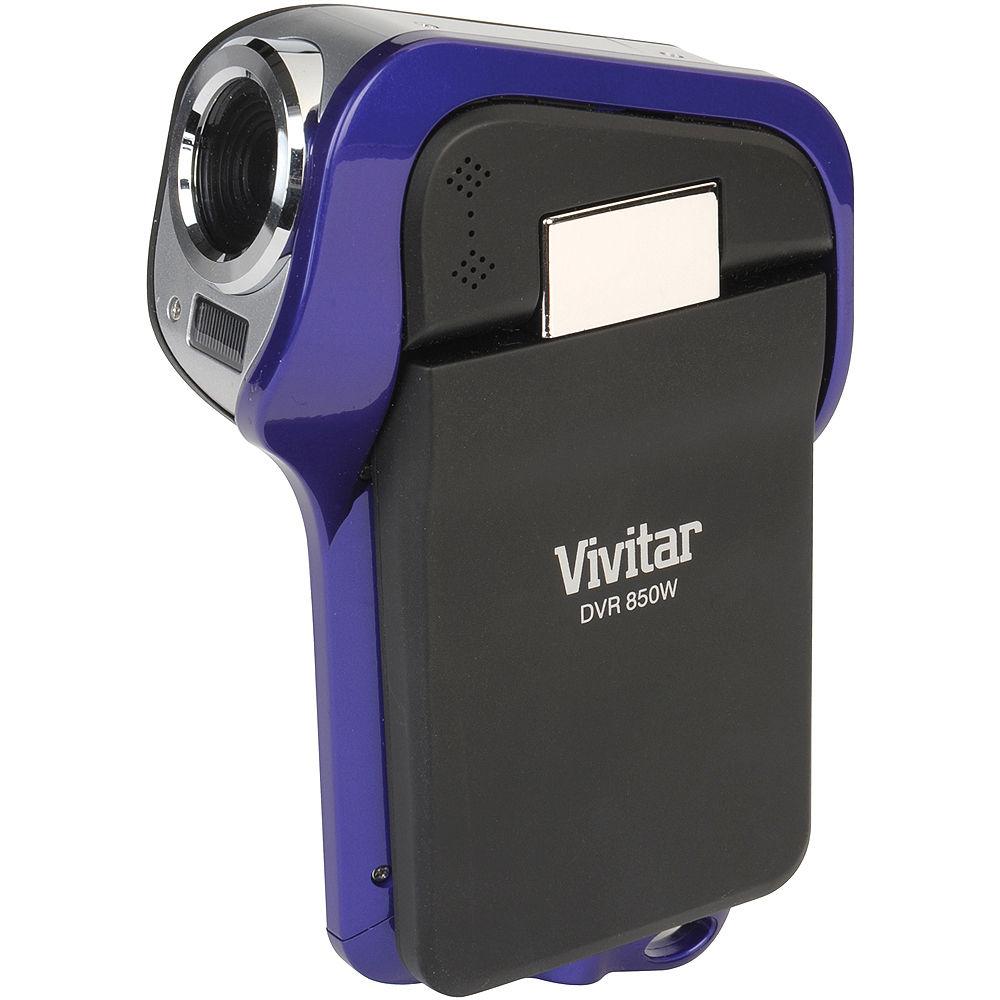 vivitar dvr 850w digital video recorder dvr850w purple b h photo rh bhphotovideo com Vivitar DVR Directions Vivitar DVR 925Hd