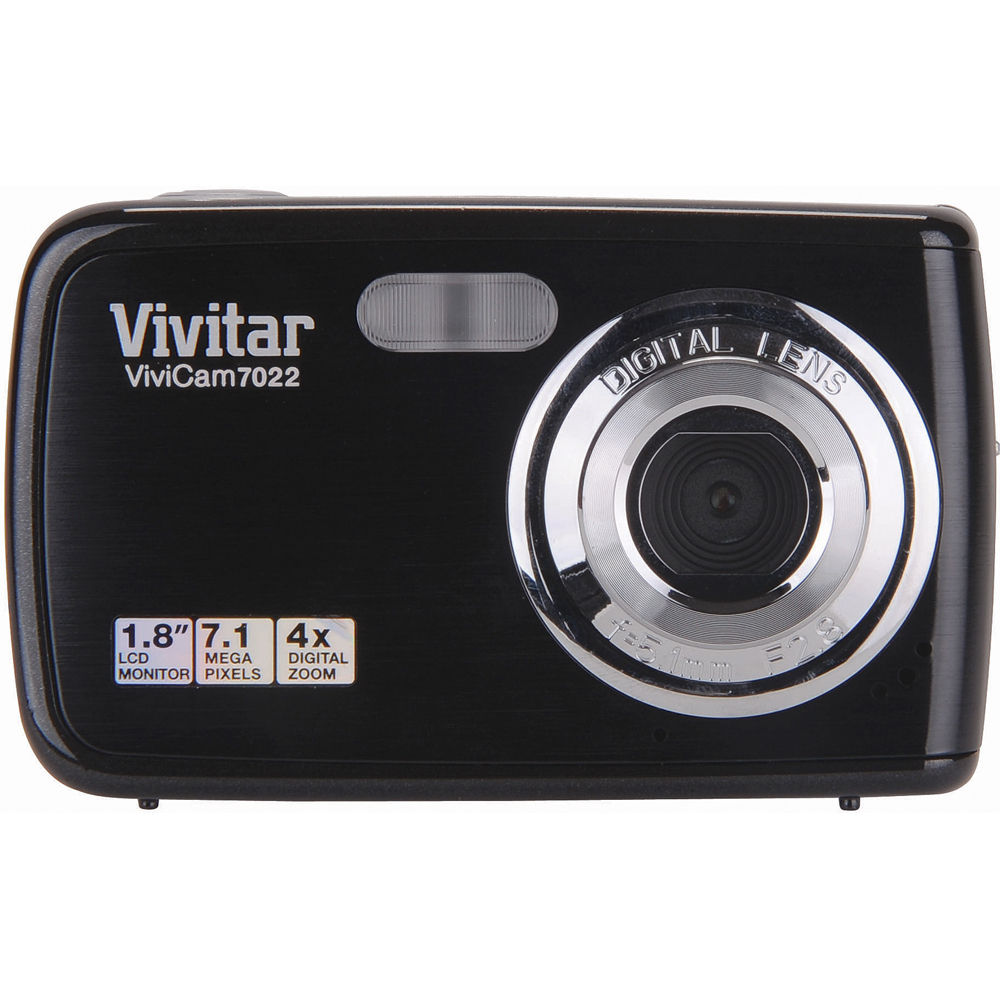 vivitar vivicam 7022 digital camera black v7022black b h photo rh bhphotovideo com Vivitar Film Camera Vivitar Monster High Camcorder User Manual