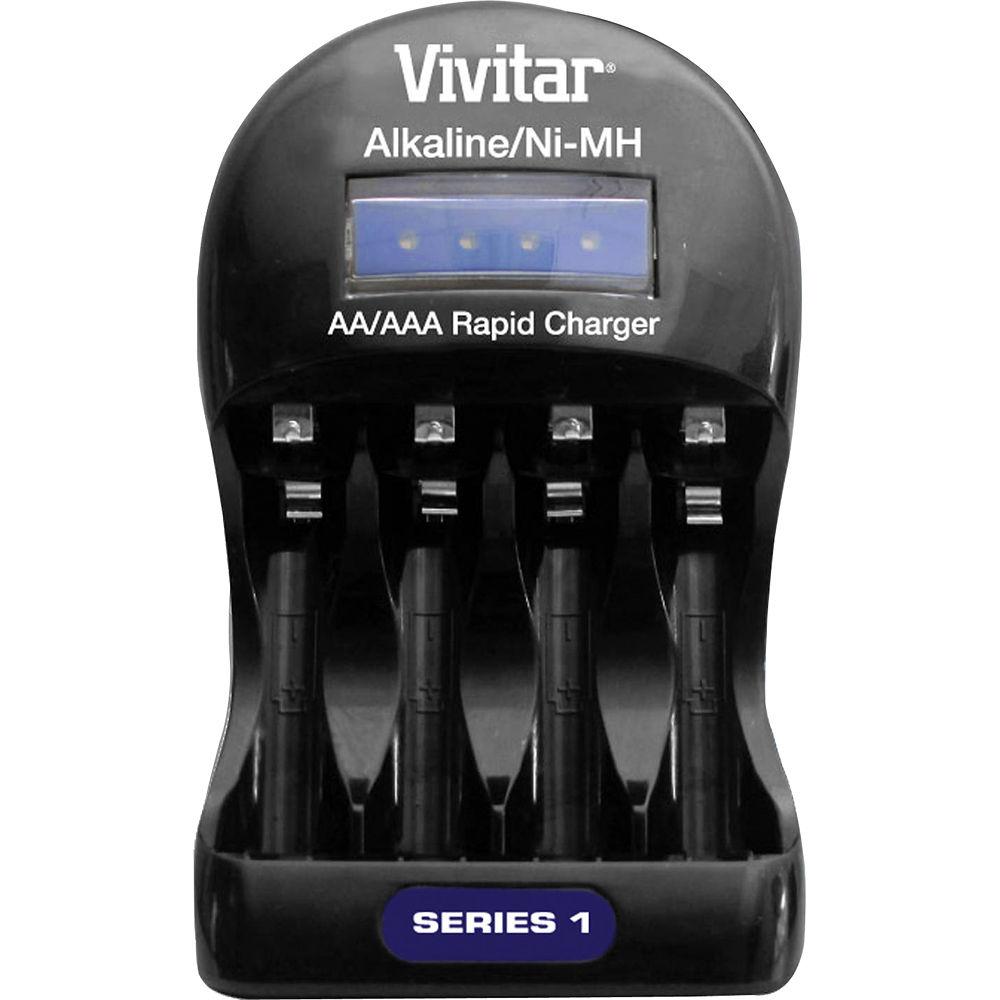 Vivitar Bc Alk Series 1 Alkaline Nimh Battery Charger Viv