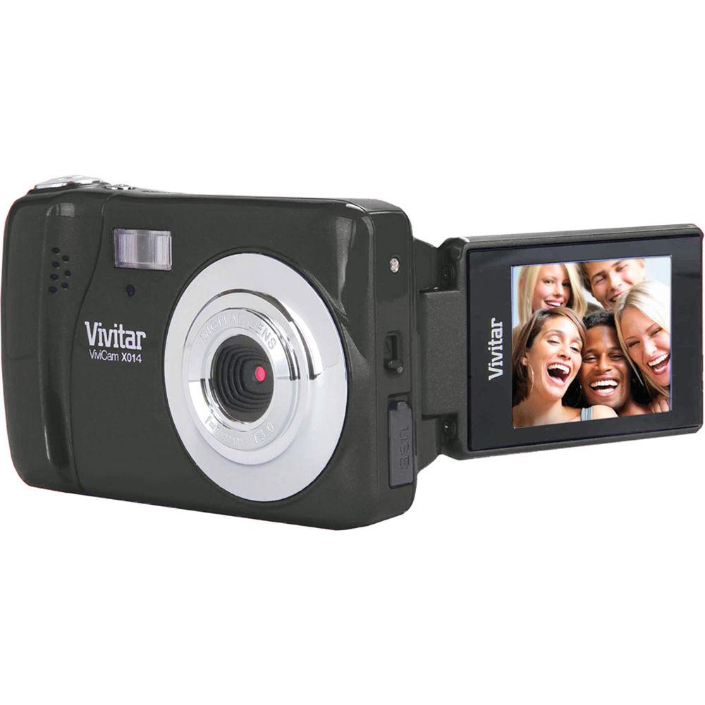 vivitar vivicam x014 digital camera black vx014b b h photo rh bhphotovideo com Vivitar ViviCam Instruction Manual Vivitar ViviCam Instruction Manual