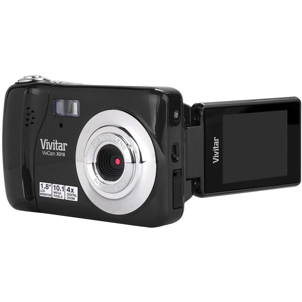 vivitar vivicam x018 digital camera black vx018black b h photo rh bhphotovideo com Vivitar ViviCam 5024 Vivitar ViviCam 7022 User Manual