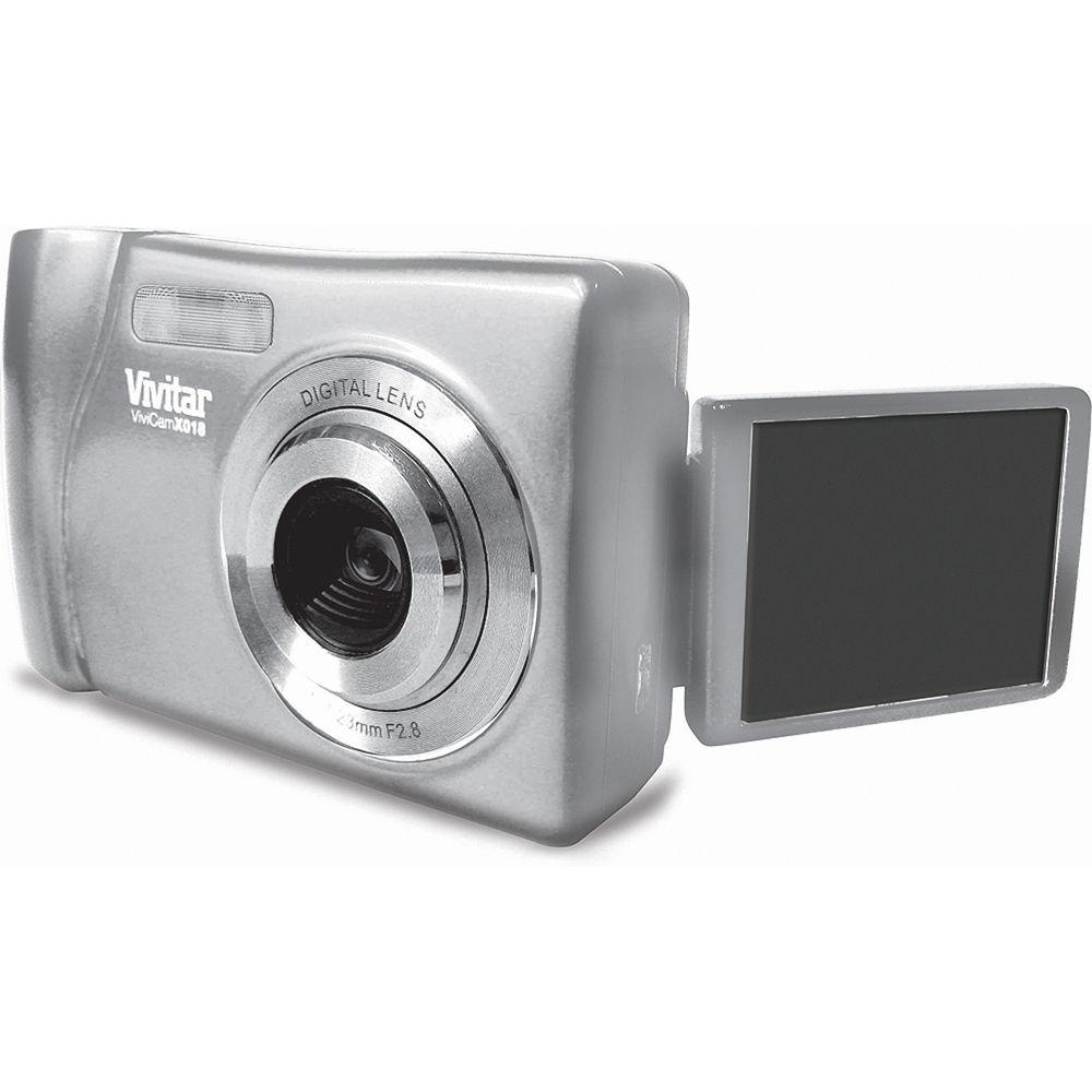 vivitar vivicam x018 digital camera silver vx018 silver b h rh bhphotovideo com Vivitar ViviCam 7022 Vivitar ViviCam 5024