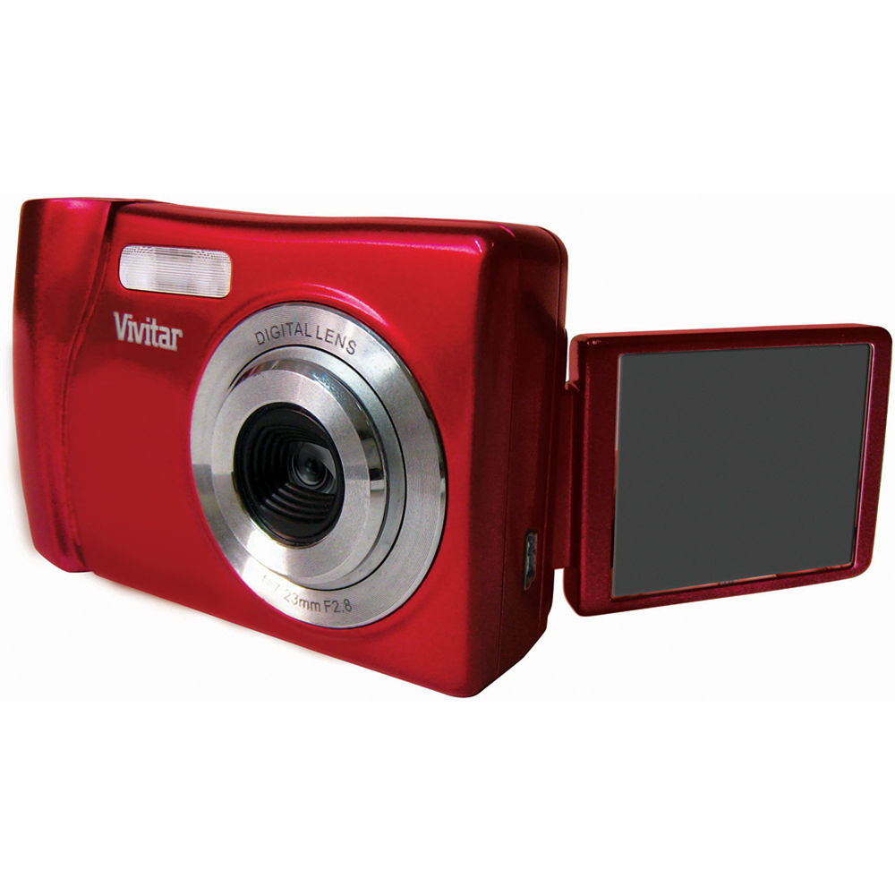 vivitar vivicam x018 digital camera strawberry vx018 straw b h rh bhphotovideo com Vivitar ViviCam 5024 Vivitar ViviCam 5119