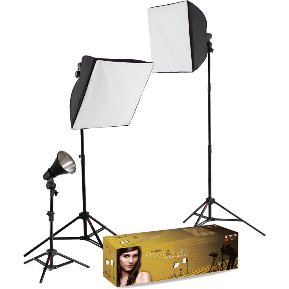 Westcott uLite 3-Light Lighting Kit  sc 1 st  Bu0026H & Westcott uLite 3-Light Lighting Kit 403 Bu0026H Photo Video