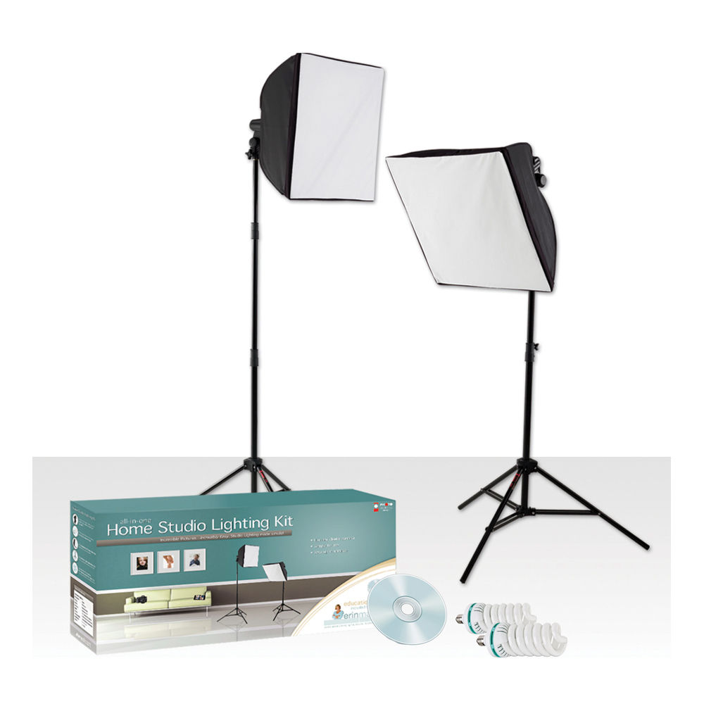 Optex Photo Studio Lighting Kit Review: Westcott Erin Manning Home Studio Lighting Kit (120 VAC