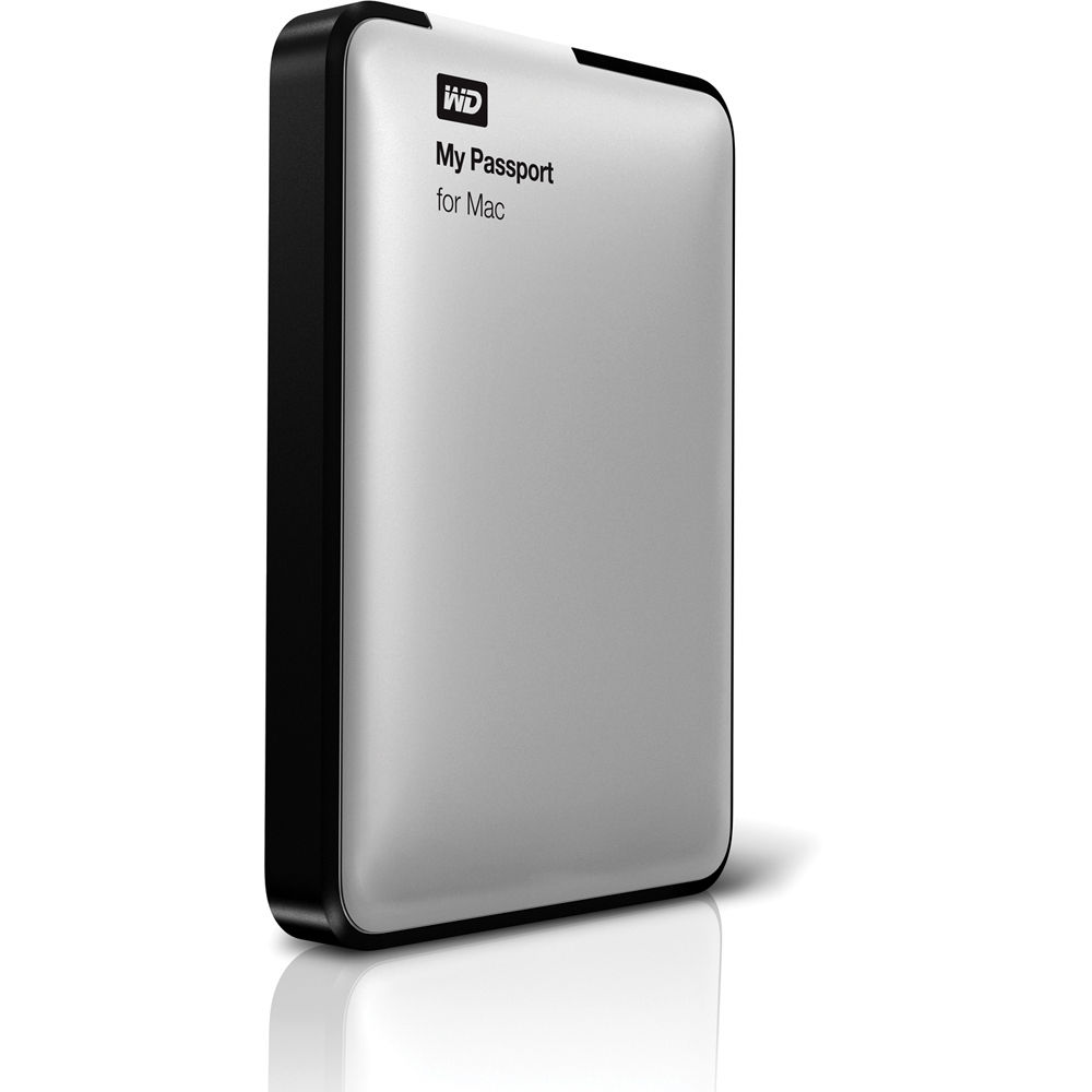 WD 1TB My Passport USB 2.0 Portable Hard Drive