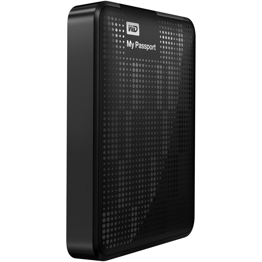 WD 2TB My Passport Portable Hard Drive (Black)