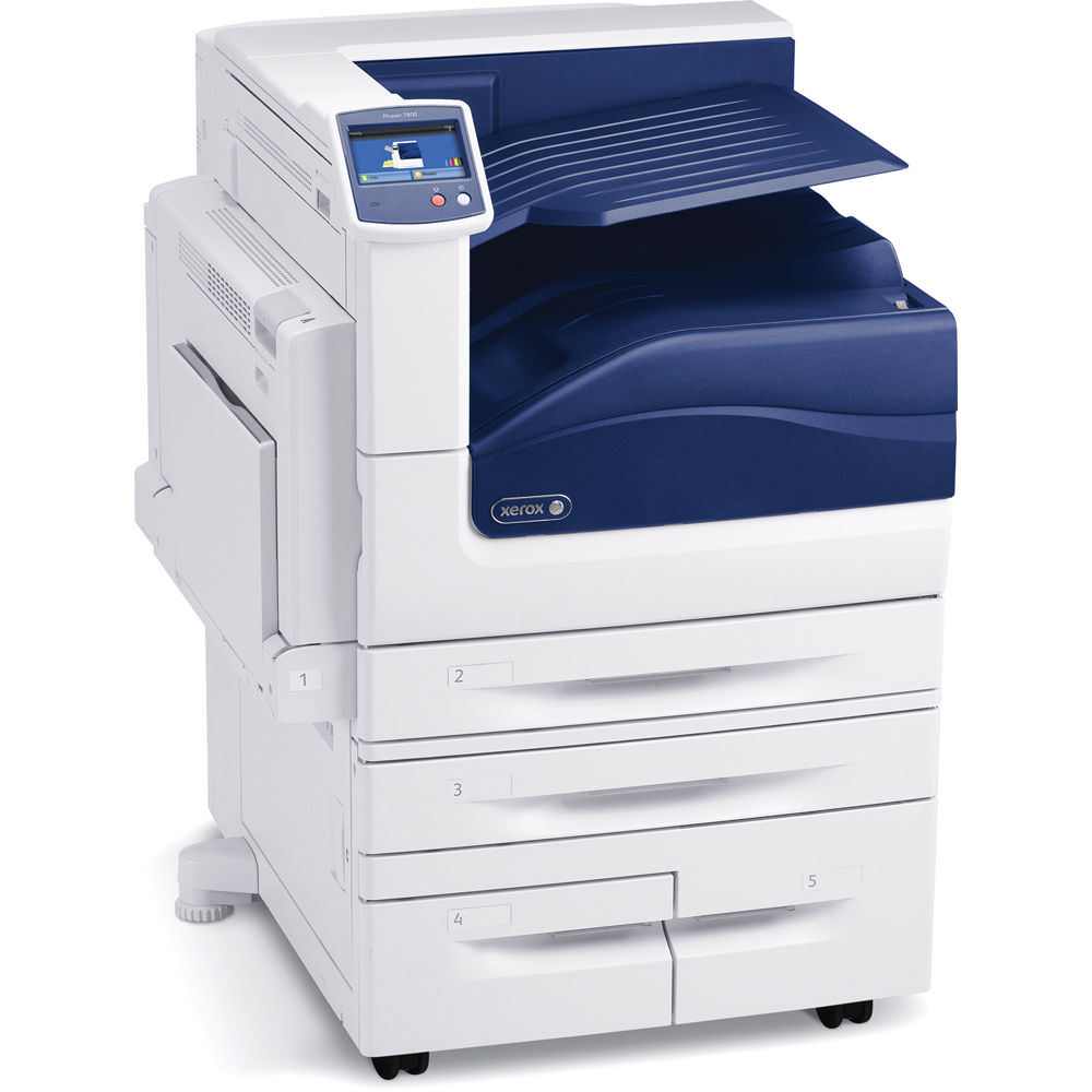 Color printers laser - Xerox Phaser 7800 Dx Tabloid Network Color Laser Printer