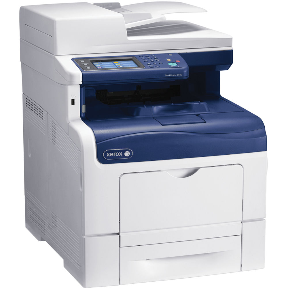 Xerox Workcentre 6605 Dn Network Color All In One Laser
