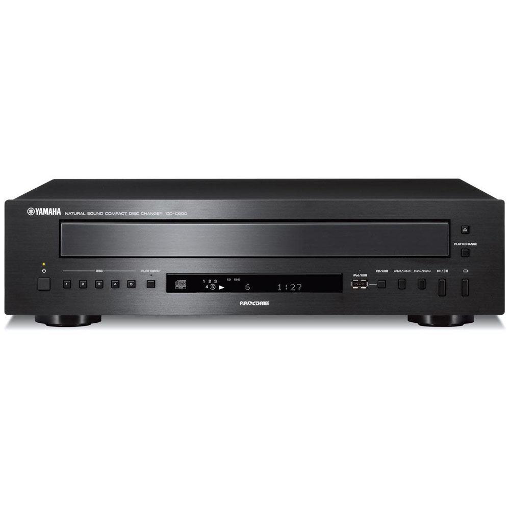 Via Cd Changer Or: Yamaha CD-C600 5-Disc CD Changer CD-C600BL B&H Photo Video