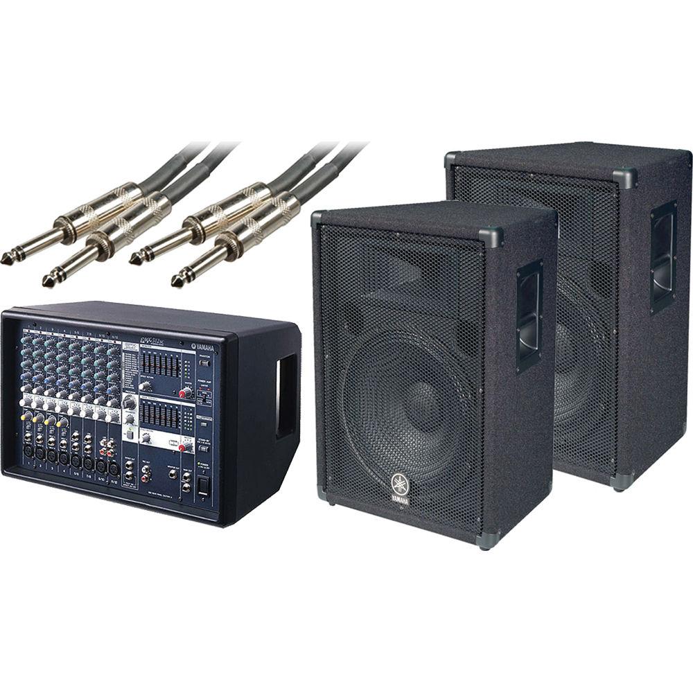 Yamaha Portable Powered Mixer