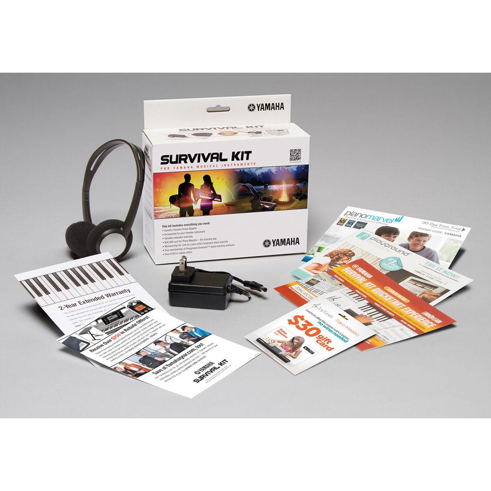 yamaha survival kit c2 accessory package sk c2 b h photo video. Black Bedroom Furniture Sets. Home Design Ideas