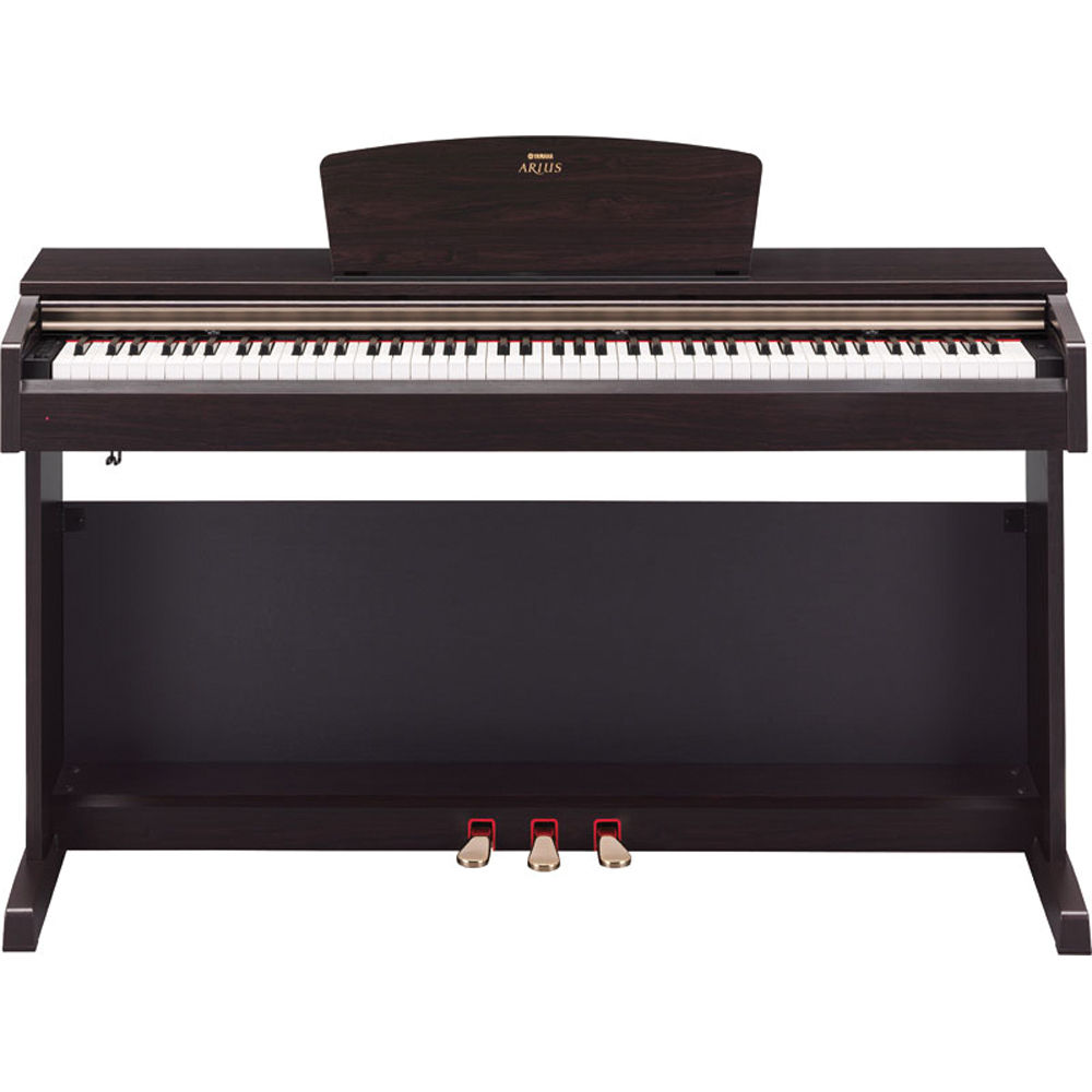 yamaha ydp 161 arius home digital piano with bench ydp161 b h. Black Bedroom Furniture Sets. Home Design Ideas