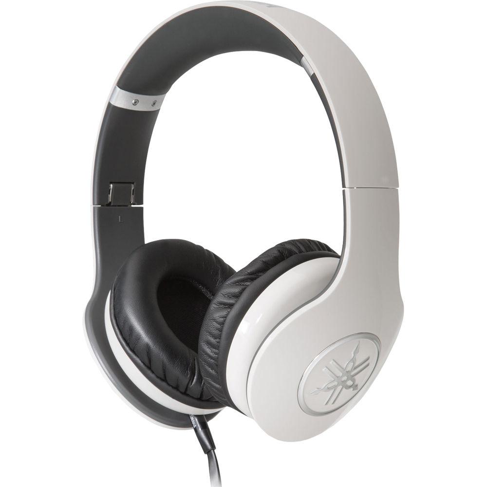 Yamaha pro 400 over ear headphones white hph pro400wh b h for Yamaha pro 400