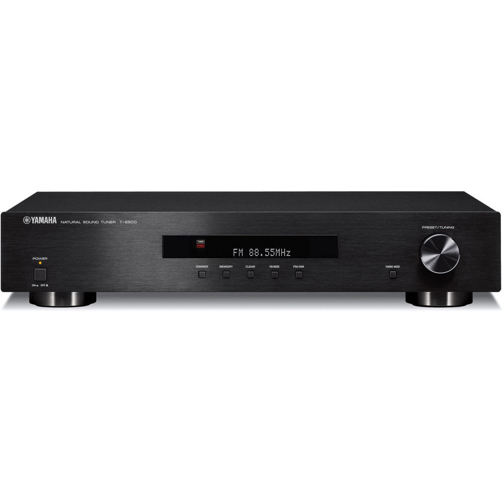 Yamaha t s500 am fm stereo tuner t s500bl b h photo video for Yamaha audio customer service