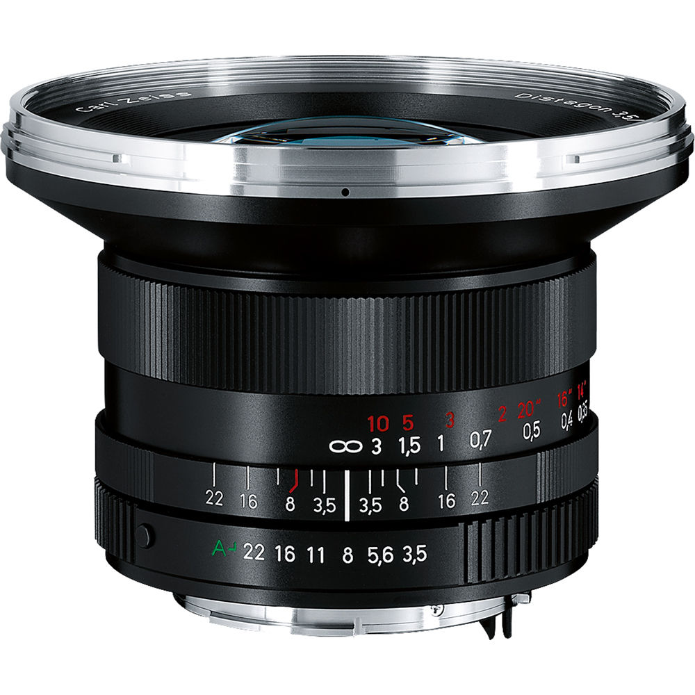 ZEISS Distagon T* 18mm f/4 ZM Lens (Silver) 1440-731 B&H Photo