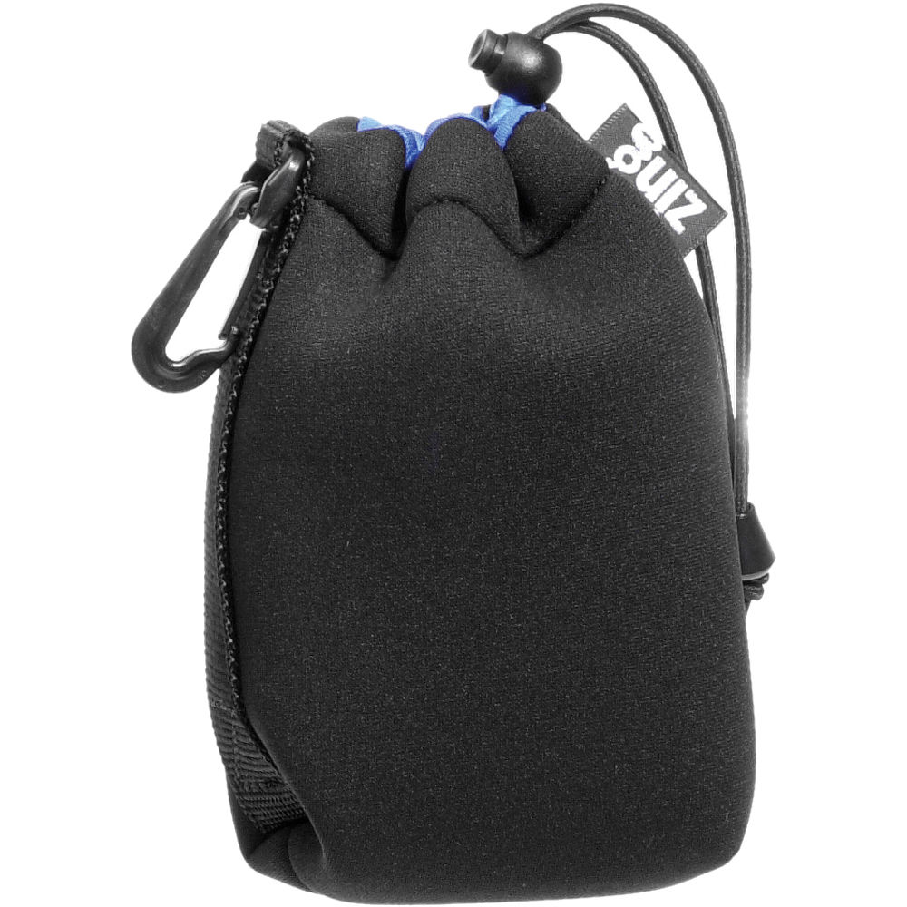 Zing Designs MPBK1 Medium Drawstring Pouch (Black/Blue) 561-222