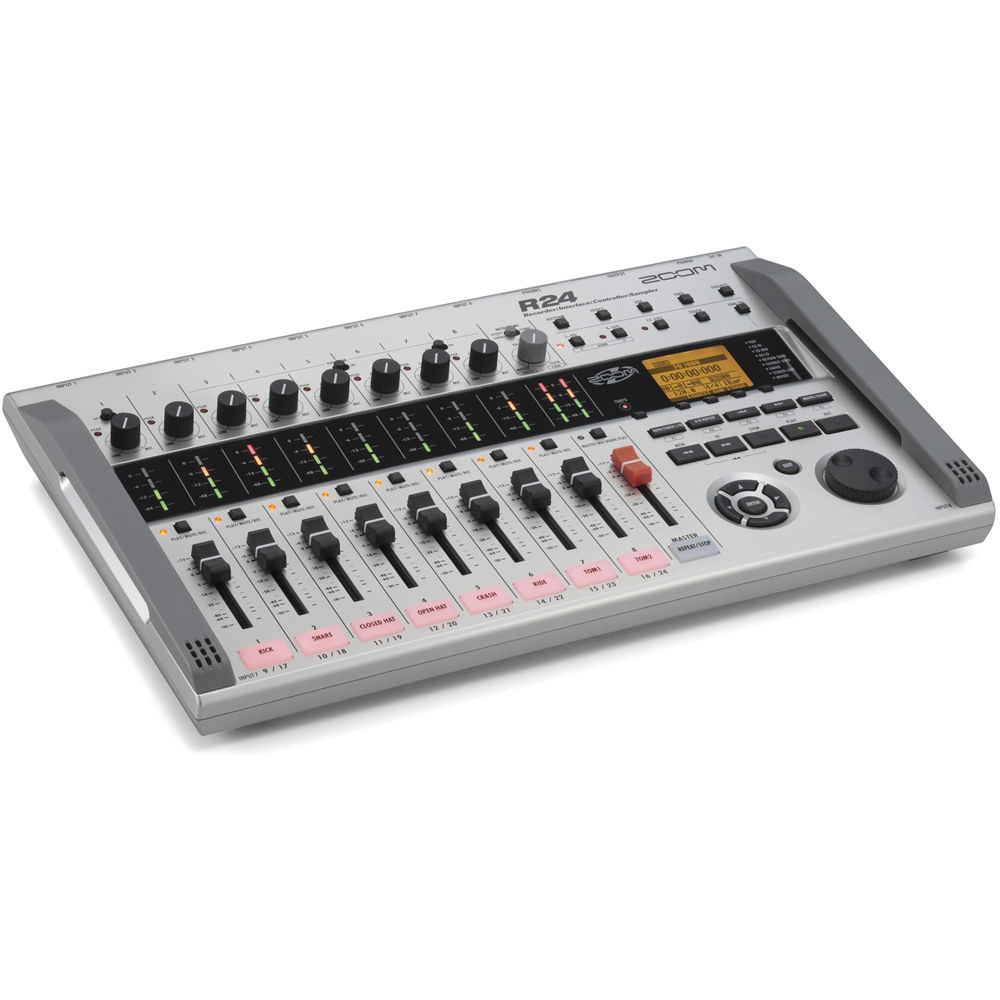 zoom r24 multi track recorder interface controller and zr24. Black Bedroom Furniture Sets. Home Design Ideas