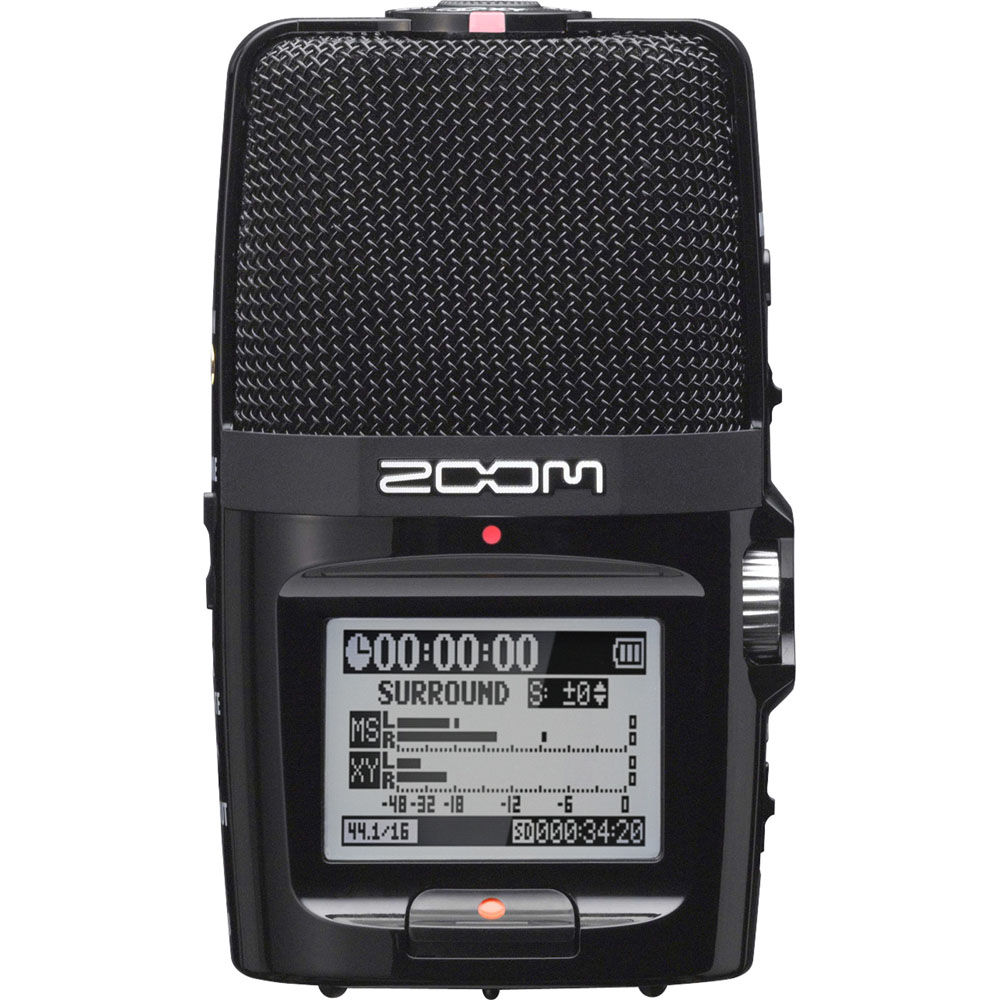 H2n Handy Recorder Portable Digital Audio Voice Record And Playback Circuit Schematic Zoom Play Video