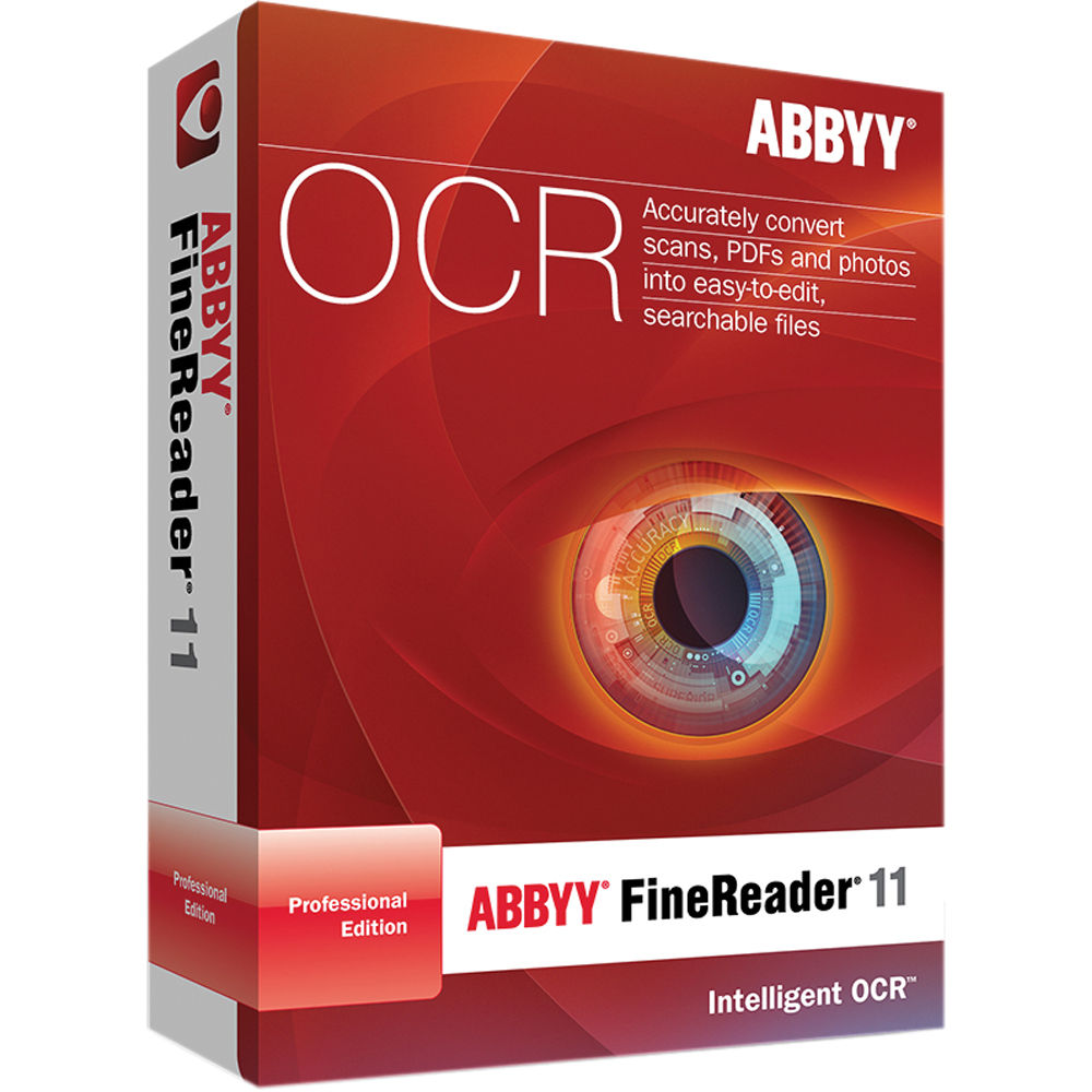 PDF Software with Text Recognition - ABBYY FineReader 14