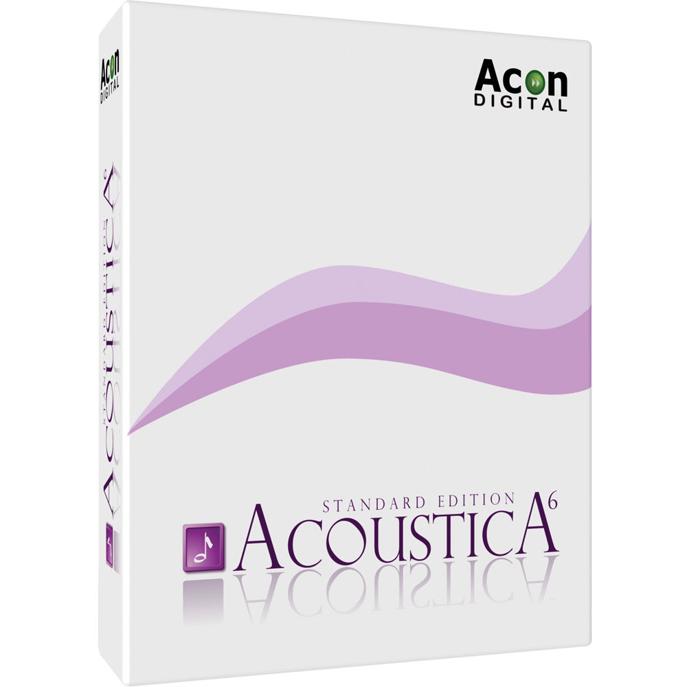 Acon Digital Acoustica Standard Edition 6 - Stereo 11 ...