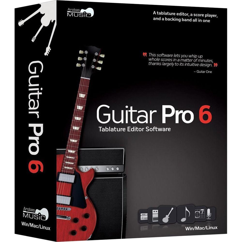 Arobas Music Guitar Pro 6 Guitar and Bass Tablature 12-41279 Bu0026H