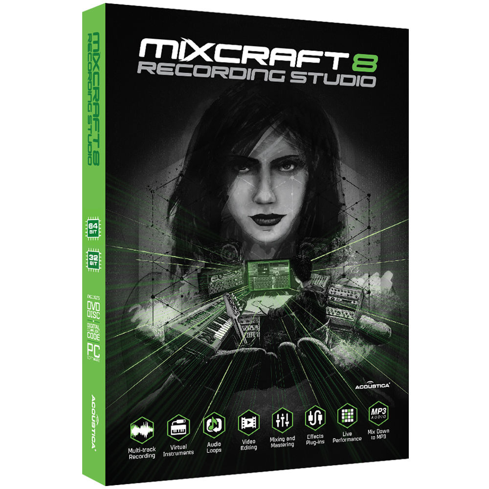 mixcraft code 8