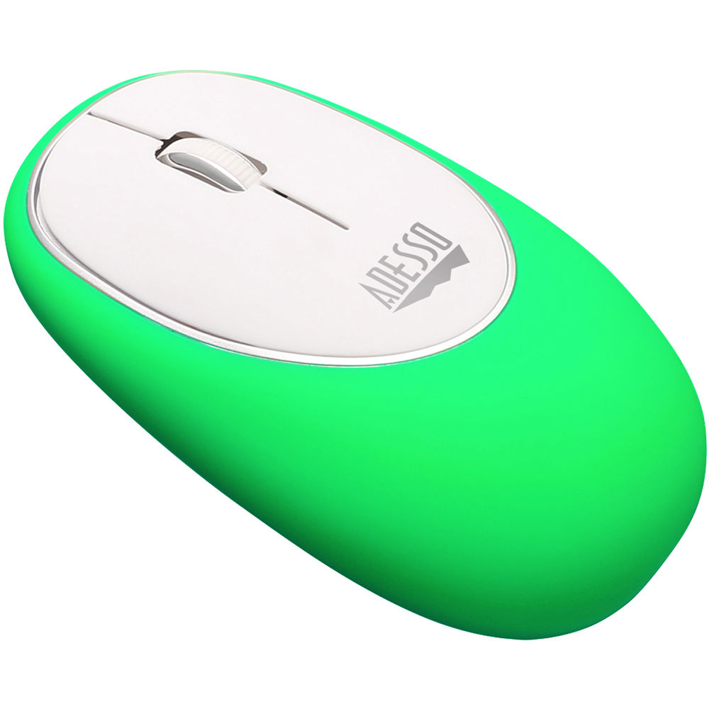 Adesso Imouse E60g Wireless Anti Stress Gel Mouse Imousee60g Bh Green Circuit Board Mousepad Pad