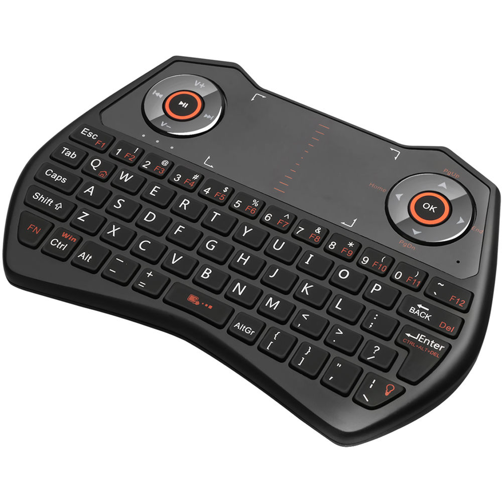 adesso slimtouch 4020 wireless keyboard with touchpad wkb 4020ub. Black Bedroom Furniture Sets. Home Design Ideas