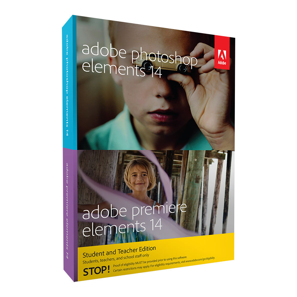 Adobe Photoshop Elements 14 And Premiere Elements 14 65264005