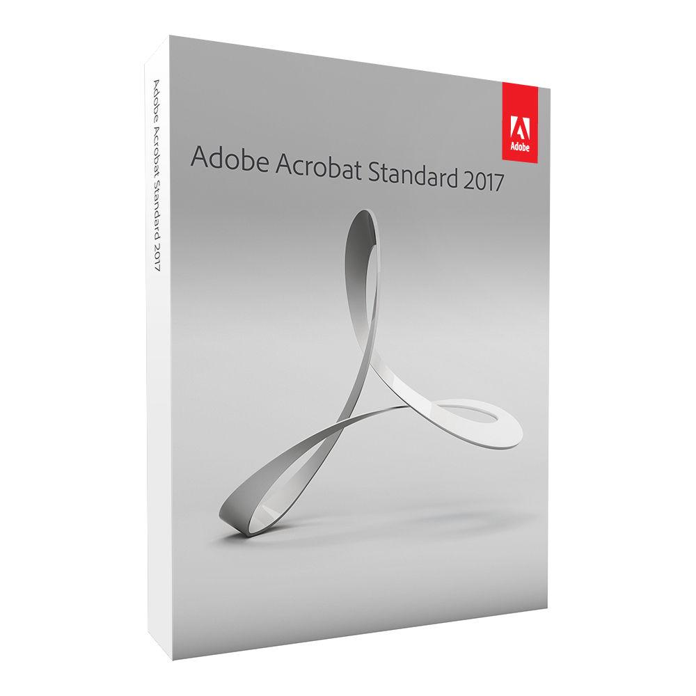 Adobe Acrobat Standard 2017 Windows Download 65280712 B Amp H