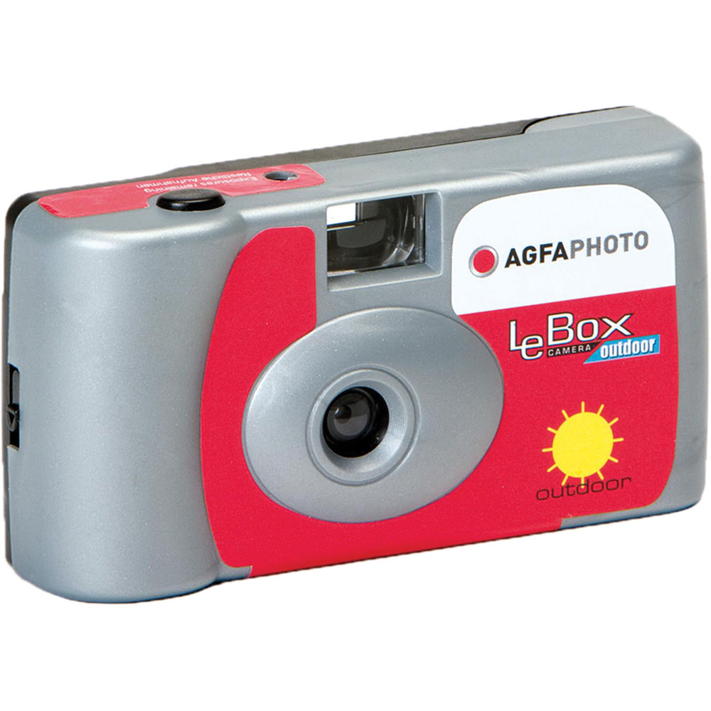 AgfaPhoto LeBox Outdoor 35mm Disposable Camera 1175277 B&H Photo
