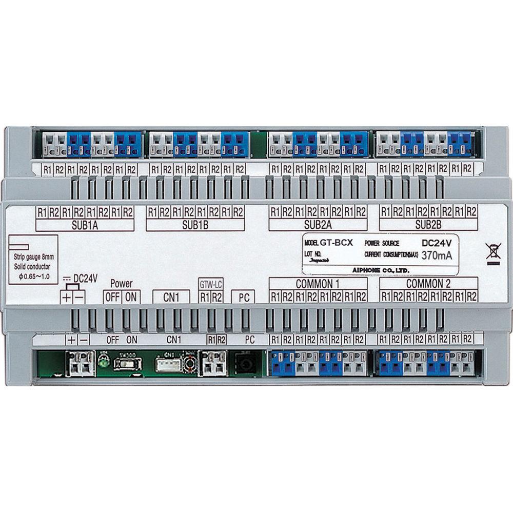 aiphone gt bcx expanded audio bus control unit for gt gt bcx b h rh bhphotovideo com