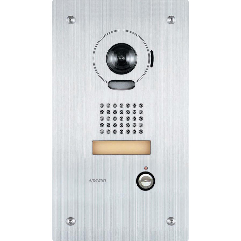 Aiphone is ipdvf flush mount ip video door station is for Door intercom