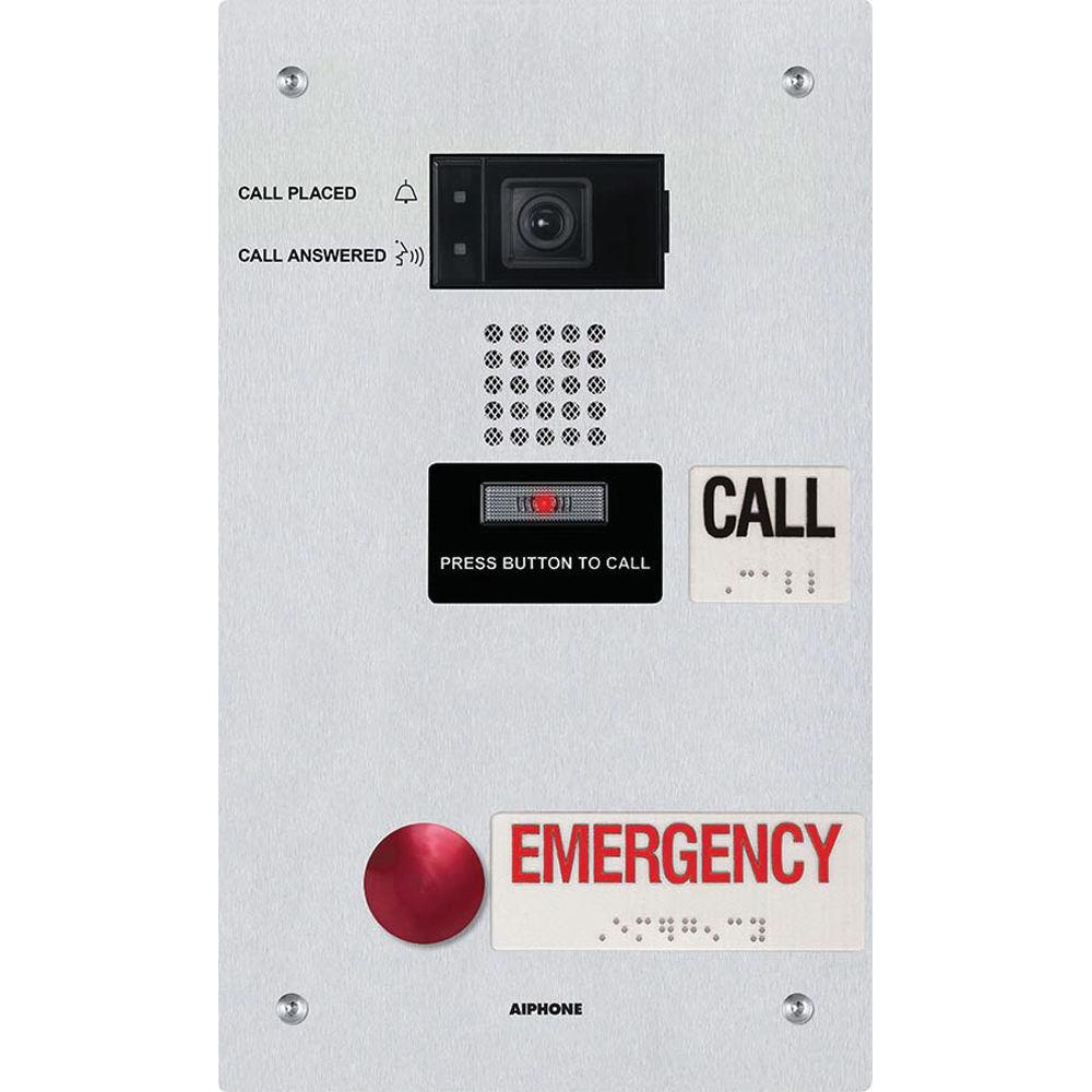 Door Call Button Aiphone Ix Df 2ra Ipaddressable Dual Genway Intercom Wiring Diagram Video Emergency Station For The Sc 1 St Bu0026h