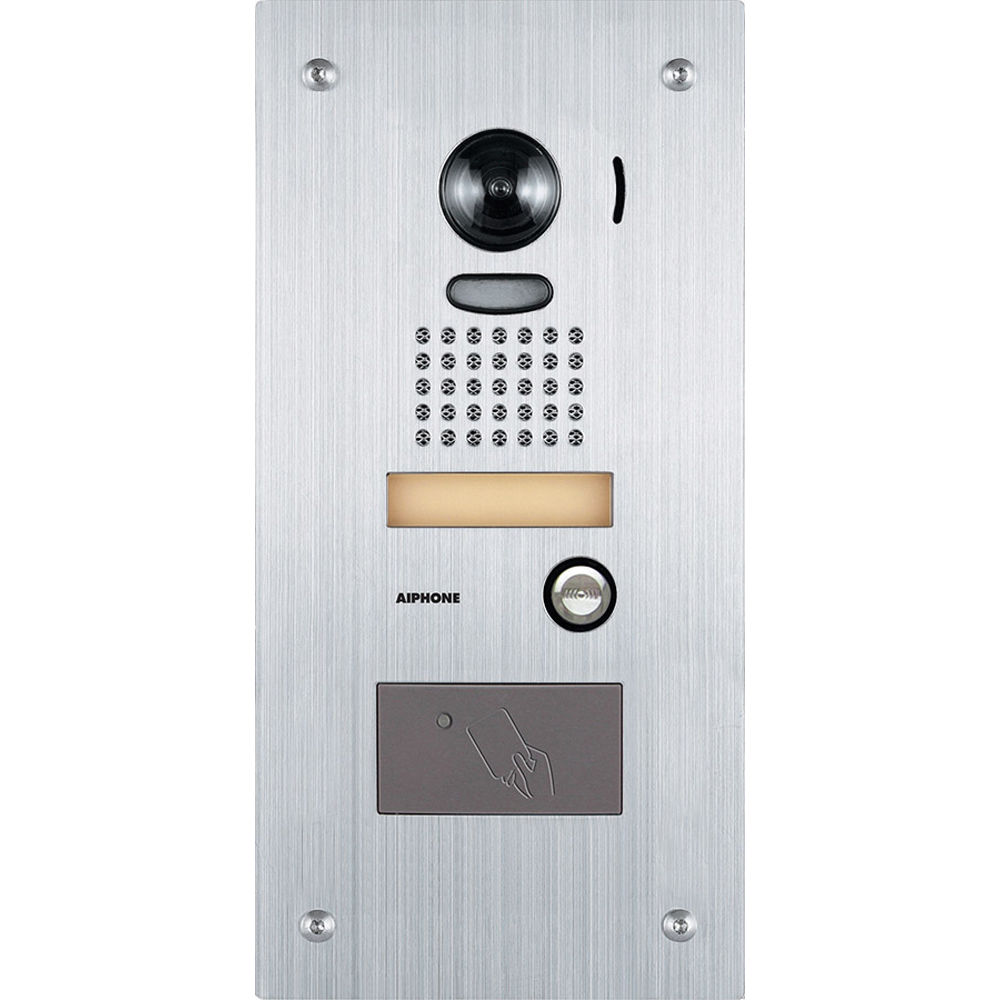Aiphone JK-DVF-HID Vandal Resistant Color Video Door Station with Built-in  sc 1 st  Bu0026H & Aiphone JK-DVF-HID Vandal Resistant Color Video Door JK-DVF-HID