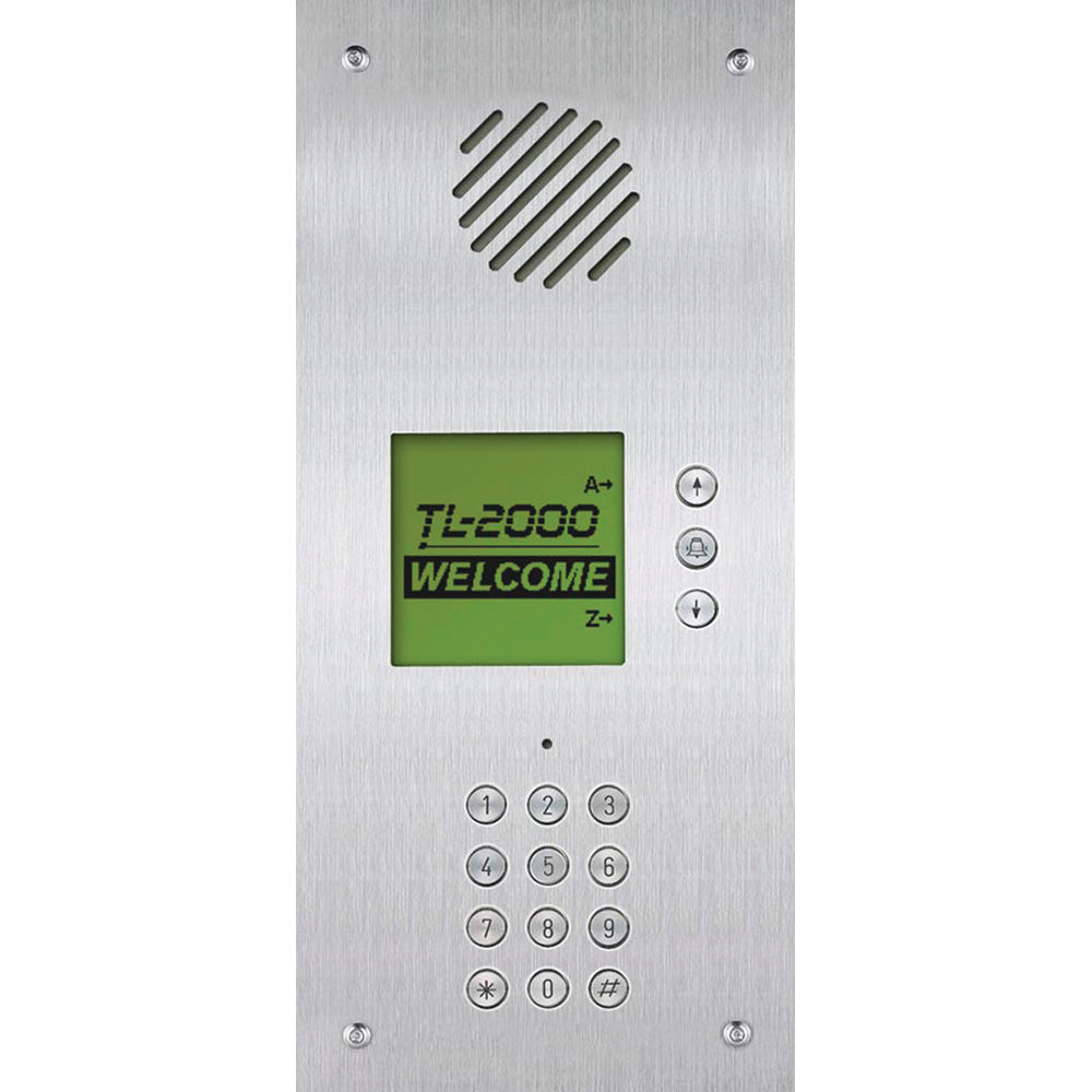 Aiphone Tl 2000 Multi Tenant Telephone Entry System Tl 2000 Bh