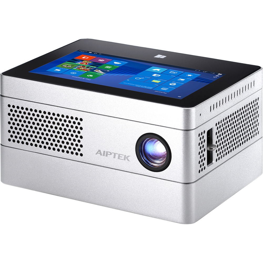 Aiptek ibeamblock l400 400 lumen hd dlp pico ibeamblock b h for Hd pico projector