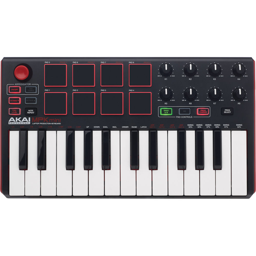 akai professional mpk mini mkii compact keyboard and mpkmini2. Black Bedroom Furniture Sets. Home Design Ideas