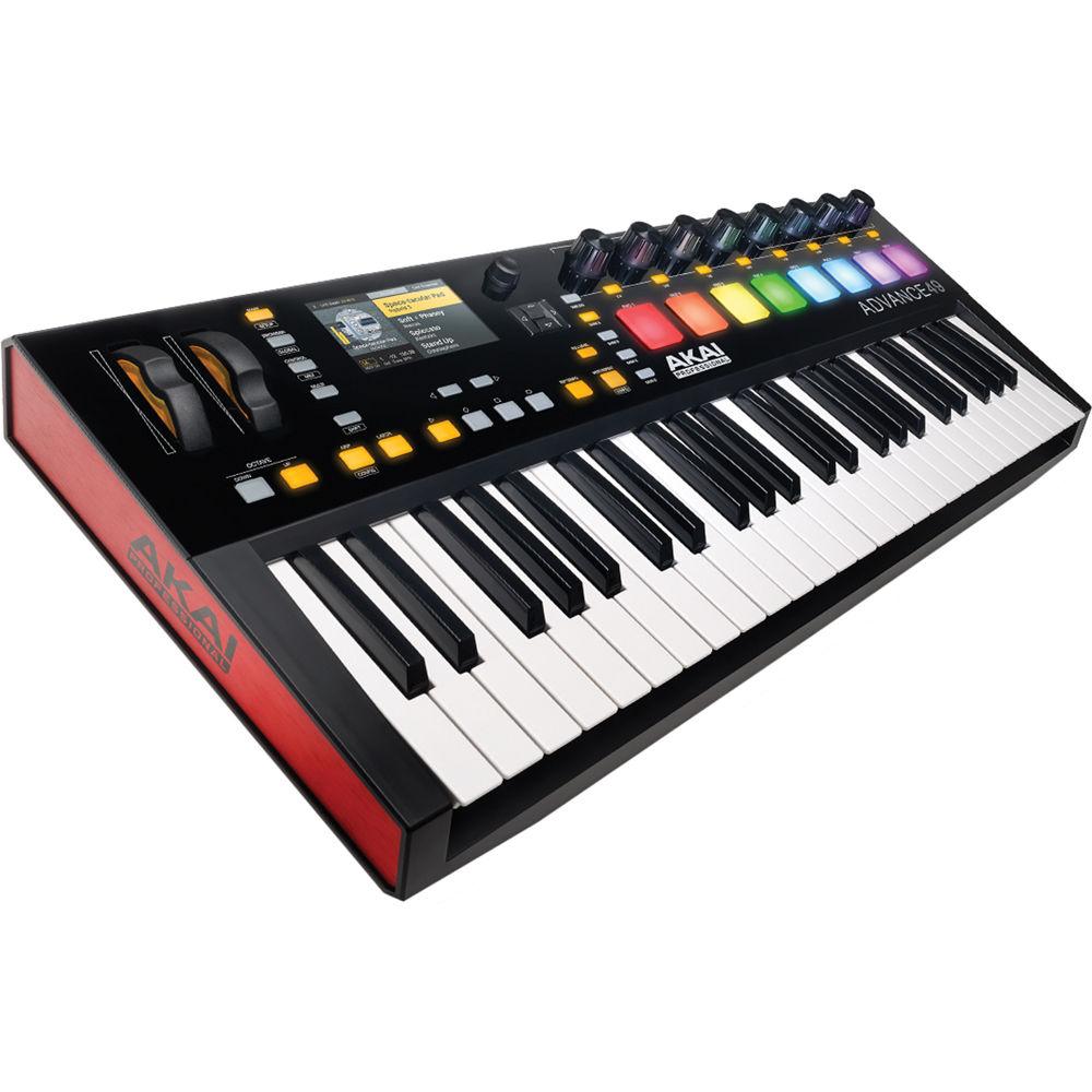 Akai Professional Advance 49- 49-Key MIDI Keyboard ADVANCE 49