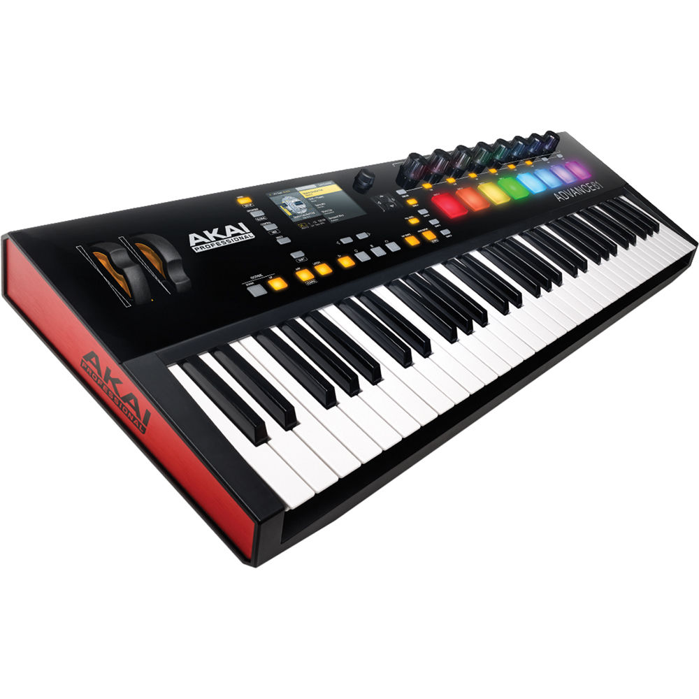 akai professional advance 61 61 key midi keyboard advance 61. Black Bedroom Furniture Sets. Home Design Ideas
