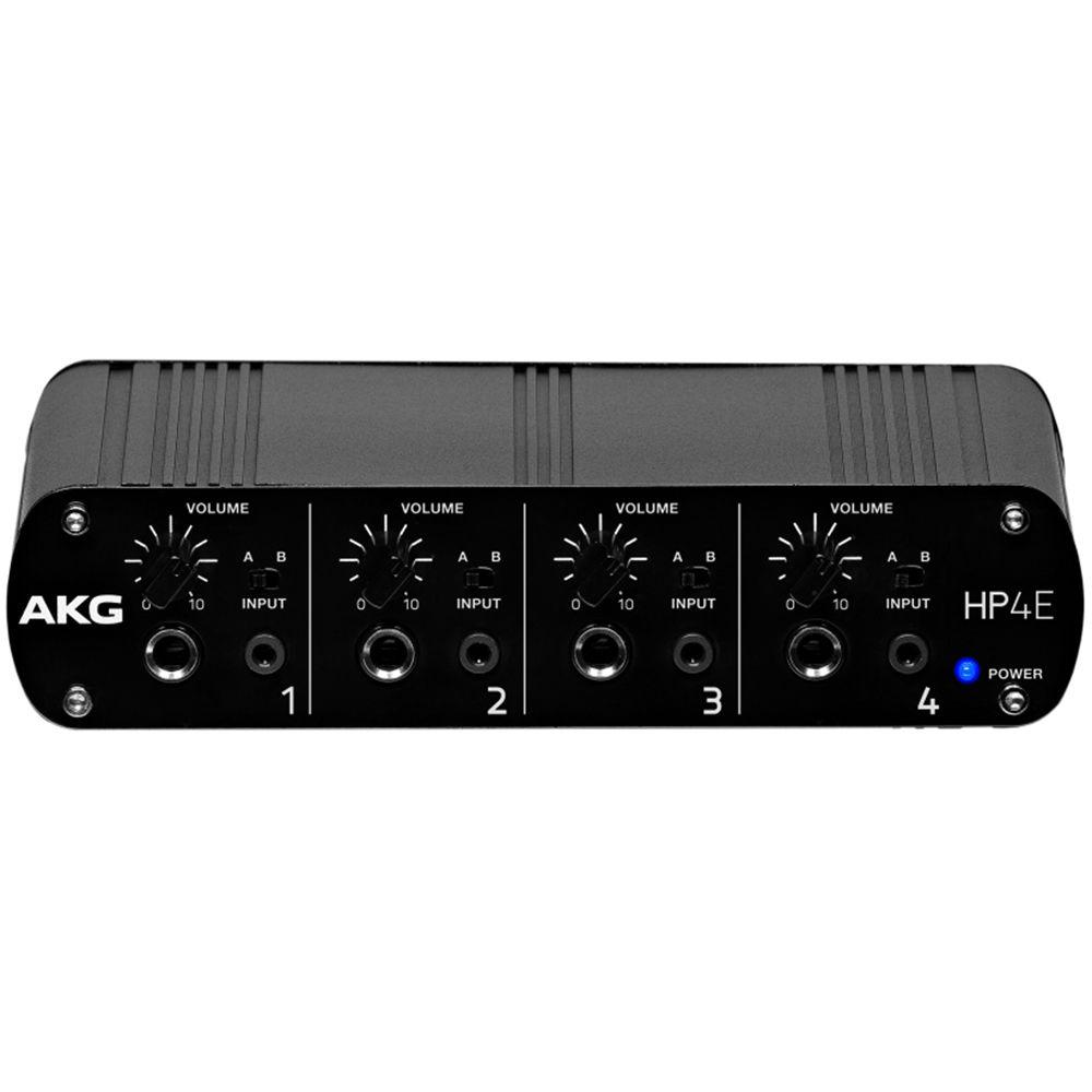 Akg Hp4e 4 Channel Headphone Amplifier