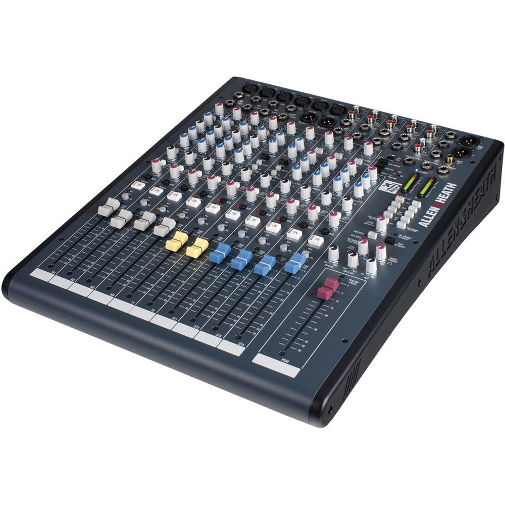 allen heath xb 14 compact broadcast mixer ah xb2 14 b h. Black Bedroom Furniture Sets. Home Design Ideas