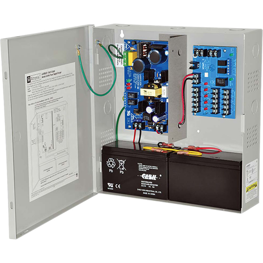 Altronix M Series Multi Output Power Supply Charger Al400ulm Bh 12v Dc Wiring Supplies 4a 12vdc 3a