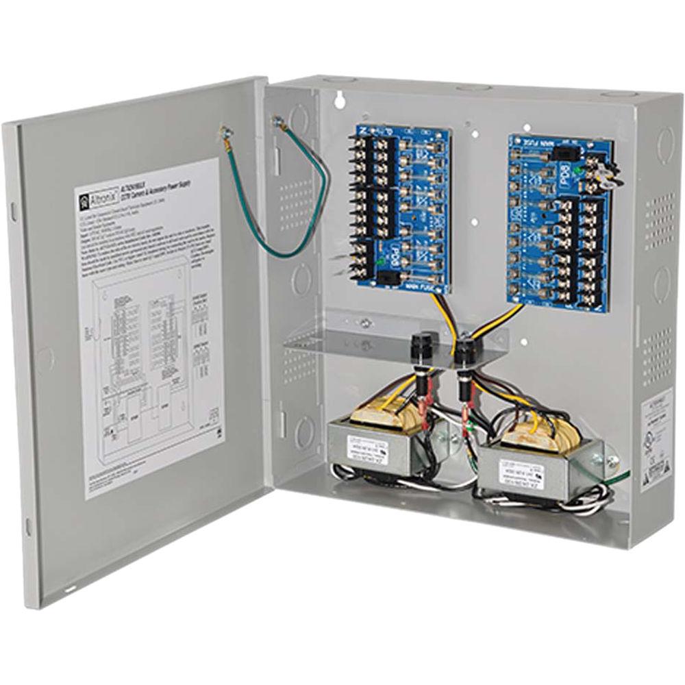 Altronix 16 Output Power Supply Altv2416ulx B Amp H Photo Video