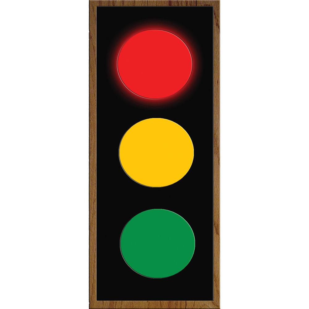 Alzatex RYG472AB_OAK Large Red Yellow Green Indicator Images