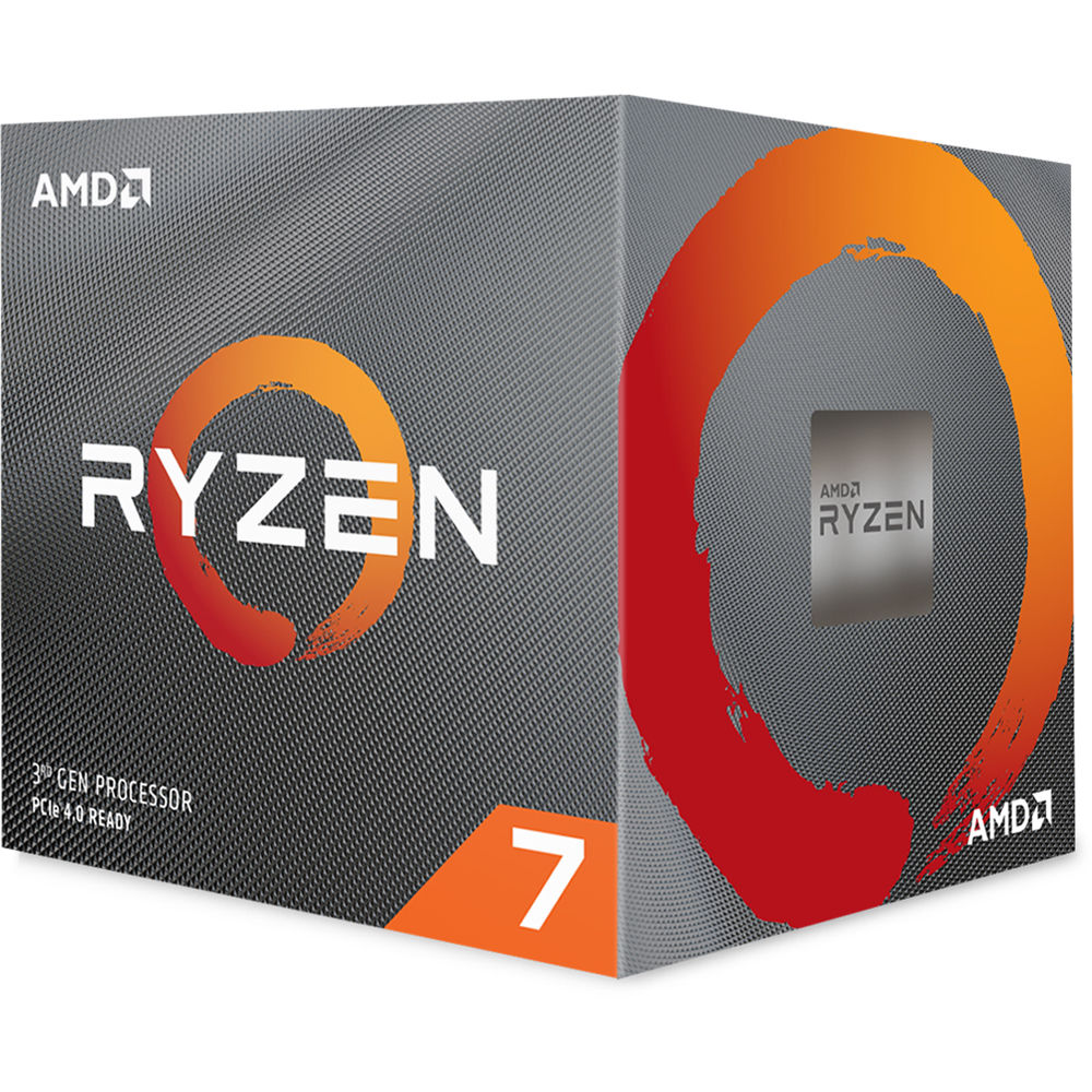 Amd Ryzen 7 3800x 3 9 Ghz Eight Core Am4 100 100000025box B H