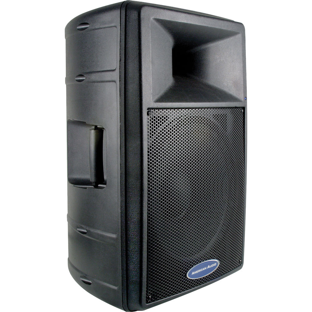 american audio dls 15p 15 inch 2 way powered speaker dls 15p b h. Black Bedroom Furniture Sets. Home Design Ideas