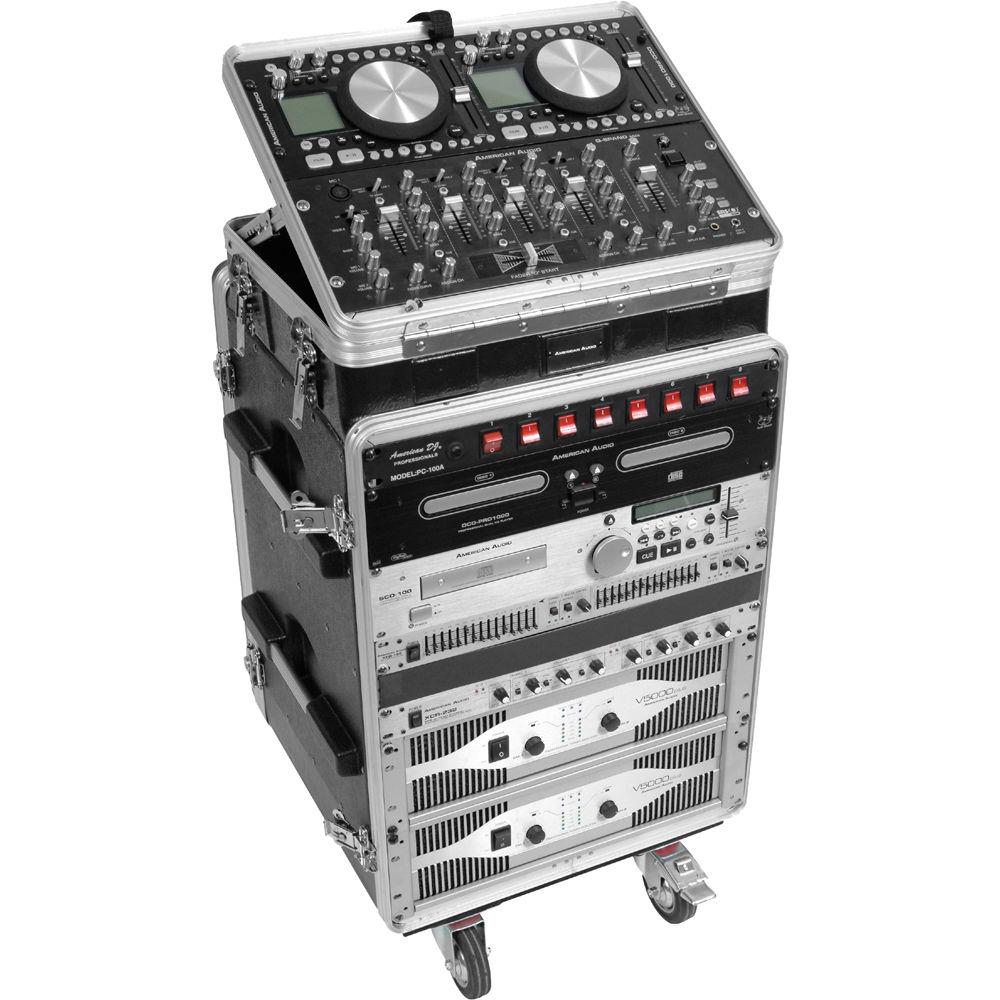 American Audio TLC PRO 8 x 14 Professional Rack Case TLCPRO 8X14